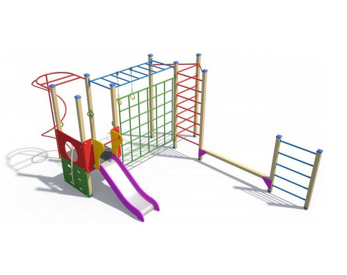 Детский спортивный комплекс для дачи: место для отдыха ребенка 80